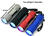 #9: SaleOn™ Metal Mini Pocket LED Torch Light(Assorted Color/1 Quantity)-669
