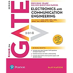 Previous Years' Solved Question Papers GATE 2018 Electronics and Communication Engineering