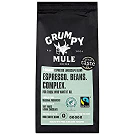 Grumpy Mule Espresso Wholebeans 227 g (Organic)