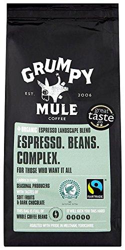 Grumpy Mule Espresso Wholebeans 227 g (Organic) 51H 2BL1k 2BHeL