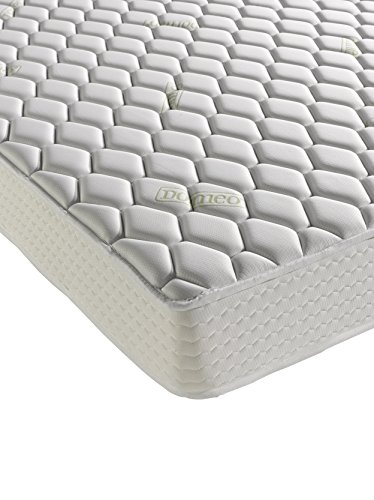 Dormeo Memory Double Aloe Vera Deluxe Mattress with Cotton, White Best Price and Cheapest