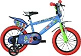 "Dino Bikes 414U-PJ Child unisex Track 14"" Steel Multicolour bicycle - Bicycles (Upright, Track, 35.6 cm (14""), Steel, Multicolour, 35 cm (13.8""))"
