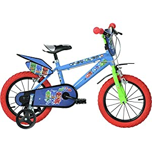 "Dino Bikes 414U-PJ Child unisex Track 14"" Steel Multicolour bicycle - Bicycles (Upright, Track, 35.6 cm (14""), Steel, Multicolour, 35 cm (13.8""))"