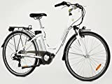 Greenway électrique Vélo de ville pour femme, Panasonic batterie, moteur à l'arrière, écran LCD