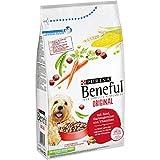 Purina Beneful Hundetrockenfutter Original (mit Rind und Gemüse) 1,5kg Beutel