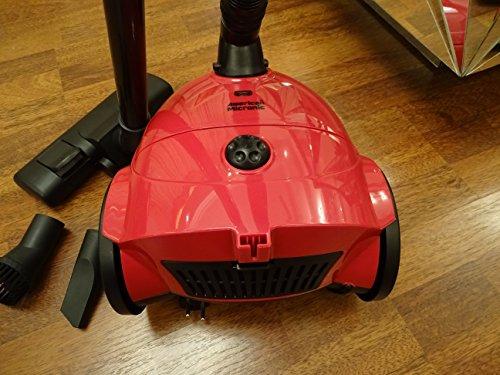 American Micronic AMI VC1 10Dx 1200-Watt Vacuum Cleaner (Red)