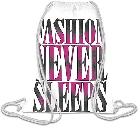 Fashion Never Sleeps Kordelzug Beutel