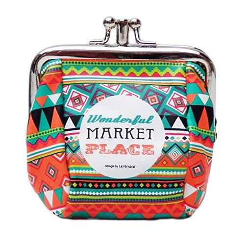 Porte-monnaie Wonderful Market, Derrière la porte