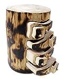 Baumstamm mit 8 Schubladen BS-012UN Design Schmuckschatulle Handgemachtes Unikat