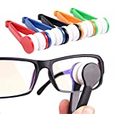 RICISUNG 1pcs Mini Eyeglasses Care Cleaning Spectacles Microfiber Cleaner