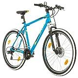 BIKE SPORT LIVE ACTIVE 27,5 Zoll Bikesport Thunder Herren Fahrrad MTB Mountainbike Hardtail Shimano 21 Gang (Blau matt, L)