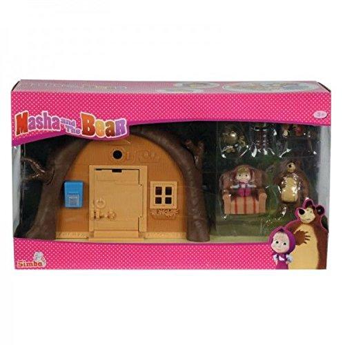 Simba 109301632 - Orso Playset Casa Richiudibile, con Personaggio