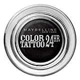Gemey Maybelline – Ombretto Crema Color Tattoo 24H di Maybelline N ° 60 Timeless Black