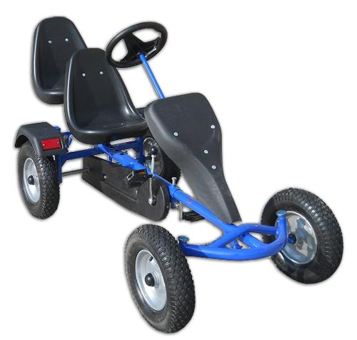 2-Sitz GoKart blau