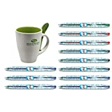 11x Pilot Gelschreiber Bottle to pen (B2P) + Tasse