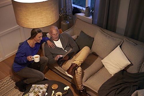 comprare on line Philips LED 8W (60W) E27Lampadine Edison, luce bianca calda, satinato, Confezione da 6, E27, 8Watt, confezione da 6 prezzo