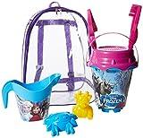 Mondo Toys 314035-28261 - Mochila cubo castillo, modelo Frozen, juguete para playa, multicolor