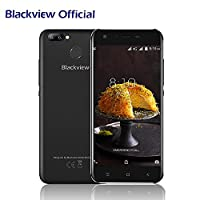 SIM Free Mobile Phone, Blackview A7 Pro with 3 Sony Cameras 5MP+8MP+0.3MP 4G Dual SIM Smartphone 5.0