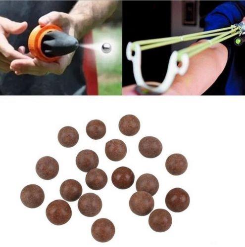 E5e1010mm slingshot perline cuscinetto fango airsoft slingshot ammo solid ball in uova per caccia e tiro, 500pcs
