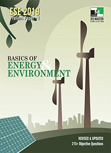 ESE 2019 : Basics of Energy and Environment