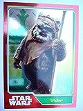 Journey To Star Wars The Force weckt Wicket Spiegel Folie Karte