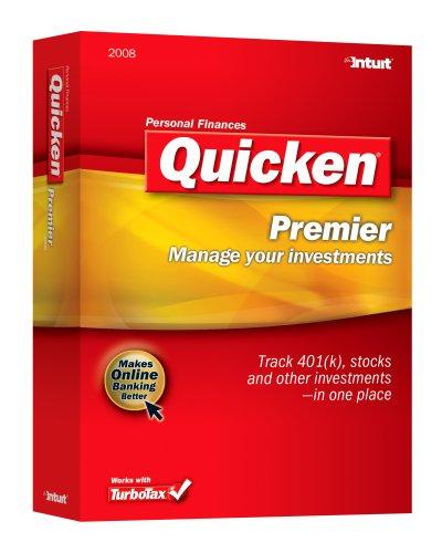 Intuit Quicken 2008 Premier [Old Version]