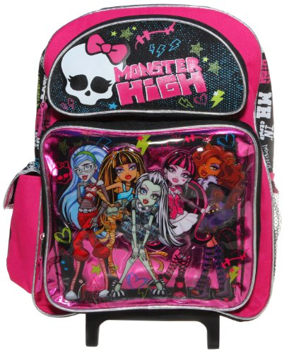 Trolley cartable MONSTER HIGH sac a roulettes grand...