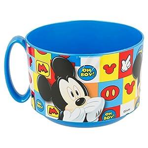 Mouse-19027 Mickey Mouse - Tazon plastico micro 450 ml (Stor 19027) (