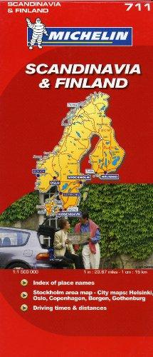 Michelin Scandinavia Finland/Scandinavie Finlande par (Carte - Dec 1, 2006)