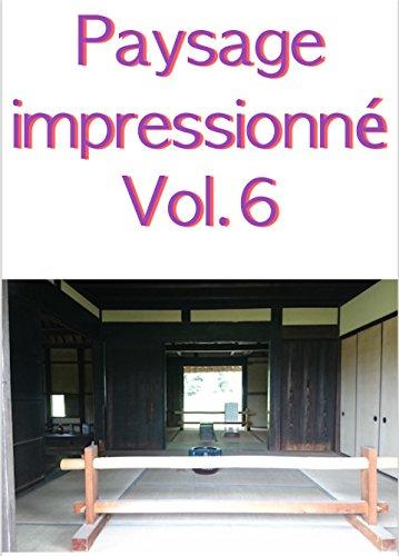 Couverture du livre Paysage impressionné Vol.6