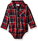 Best Mud Pie Clothing For Boys - Mud Pie baby-boys Flannel Plaid Long Sleeve Collared Review