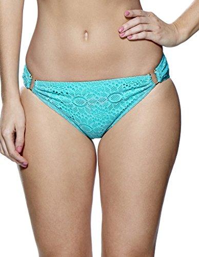 Leppel Summer Days Bikini Hose in Wassergrün 147570 44 EU/16 UK