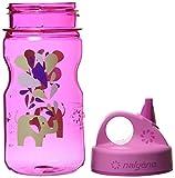 Nalgene Trink und Kunststoff Flasche Everyday Grip-n-Gulp Trinkflasche, Pink Elefant, 0.35 L