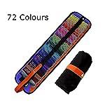 SCP072 El mejor set de 72 lápices de colores de Meloive. Los mejores lápices para colorear para artistas, dibujantes, ilustradores, diseñadores de interiores, estudiantes y adultos amantes de colorar como regalo de navidad.