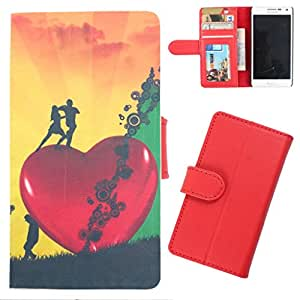 DooDa - For HTC Explorer A310 PU Leather Designer Fashionable Fancy Wallet Flip Case Cover Pouch With Card, ID & Cash Slots And Smooth Inner Velvet With Strong Magnetic Lock