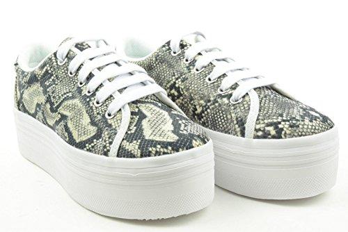 JC PLAY donna sneakers piattaforma ZOMG SNAKE 41 Pitonata