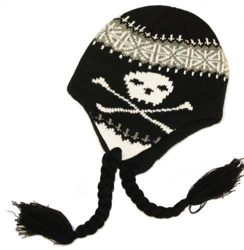 Socks Uwear - Bonnet d'hiver - Bonnet Garçon Noir - Noir