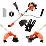 ParkerBrand 52CC Petrol Strimmer Garden Brush Cutter Trimmer