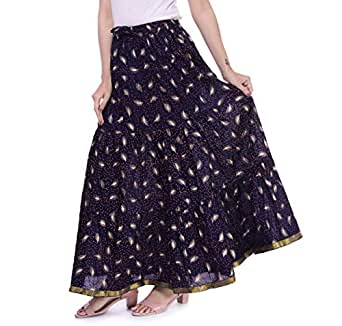 era life Women's Black Printed Skirt