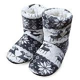 Starttwin Winterschuhe Damen Hausschuhe Indoor Schuhe Warme weiche Baumwolle Plüsch Slipper