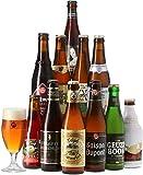 Saveur Bière - Coffret Vive La Belgique - Pack de 11 bières (25 à 33 cl) et 1 verre de 25 cl - Idée cadeau
