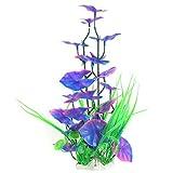 Acquatico Acqua Erba di plastica Acquario artificiale vegetali decorativi