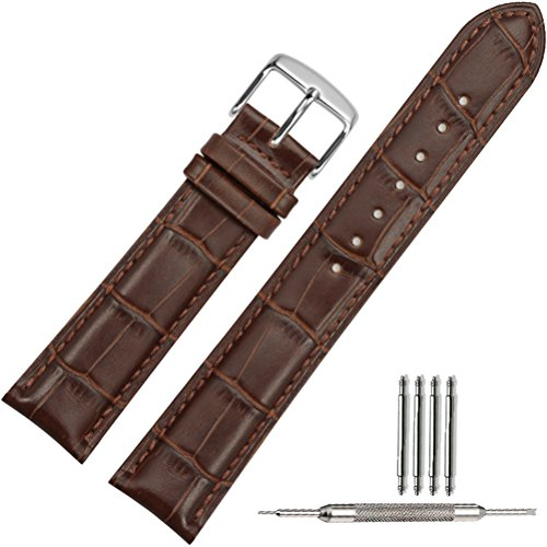 tstrap-22mm-genuine-leather-watch-strap-brown-replacement-military-watch-band-w-watch-clasp-buckle-m