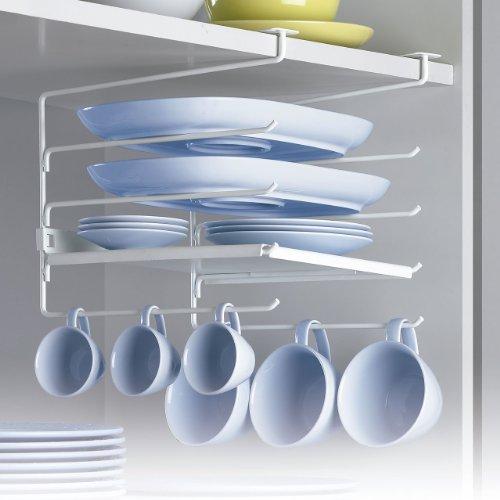 Rayen 6074 - Colgador con estantes para armarios de cocina, 22.5 x 30 x 26 cm