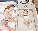XFF Tragbare Falten/Krippe/multifunktionale neugeborenen Kinder Laufstall babybett BB Bett nähen Bett,A,cm
