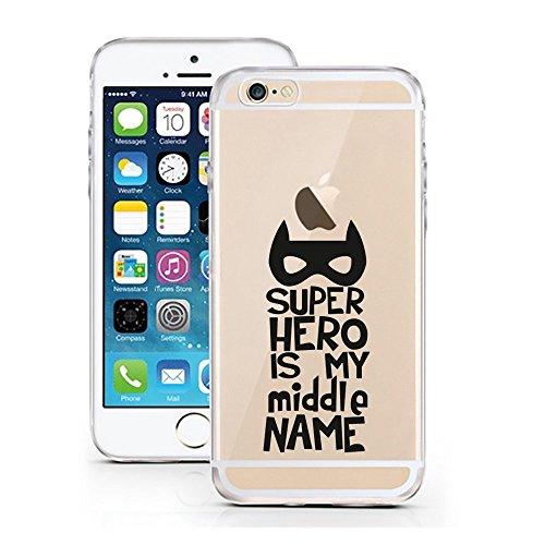 Blitz® FOYER motifs housse de protection transparent TPE caricature bande iPhone Chic Happens M12 iPhone 5 Super Hero M8