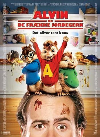 Alvin and the Chipmunks Plakat Movie Poster (27 x 40 Inches - 69cm x 102cm) (2007) Danish C