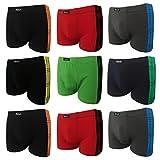 2|4|5|6|9|12 Boxershorts Herren Pesail Retroshorts Unterhosen Unterwäsche Retropants Männer in Klassischen Farben aus Baumwolle Gr.M 5 L 6 XL 7 2XL 8 3XL (XL, 2er)