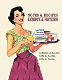 Notes and Recipes Large Blank Book by Tushita journals