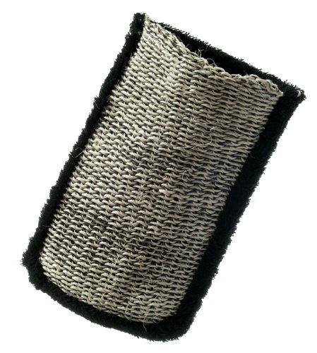 Luxus doppeltseitiger Peeling Handschuh aus Sisal und Baumwolle (Sisal-waschlappen)